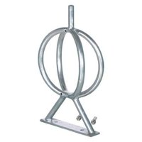 VESTIL Galvanized Bicycle Rack 5.31X12.75X22.5 BR-GL-G