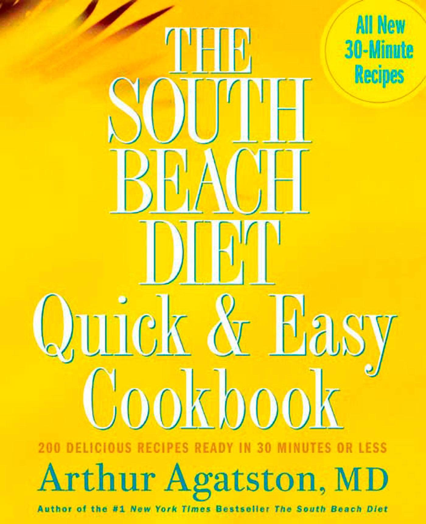 south beach diet preoared starter manual