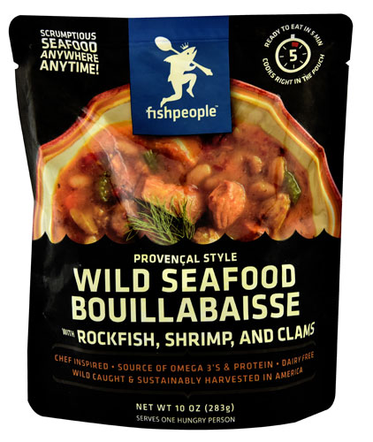 Fishpeople Wild Seafood Bouillabaisse -- 10 oz pack of 12 by