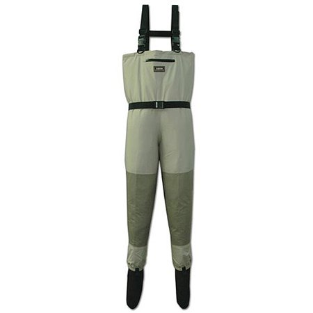 Caddis Systems Deluxe Breathable Stocking Foot Wader, 2-Tone Taupe