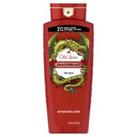 Old Spice Wild Collection Dragonblast Scent Body Wash for Men, 21 fl oz