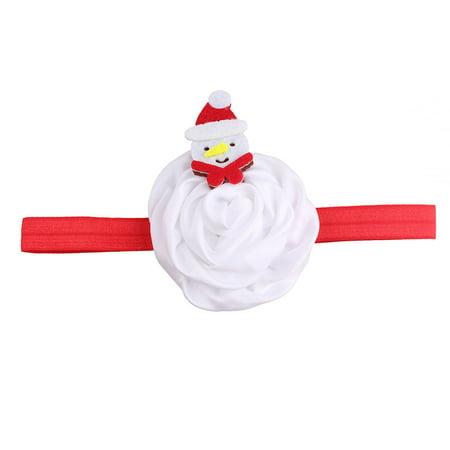 Huppin's Hot Sale Christmas Decoration Headwear Girls Infant Cute Cartoon Snowman Hair Band Headband Headdress Accessories Novelty Gadget - Ugg Headband Sale