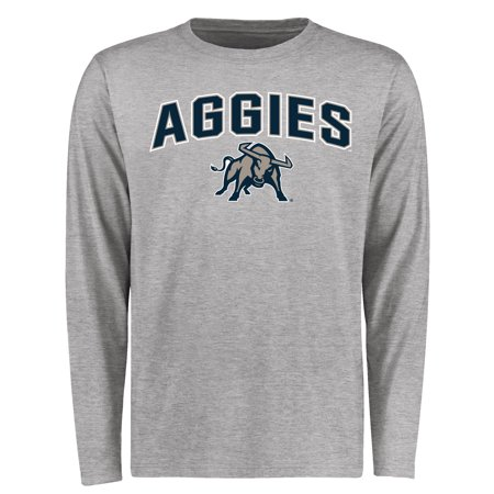 Utah State Aggies Proud Mascot Long Sleeve T-Shirt - (Utah State Seal)