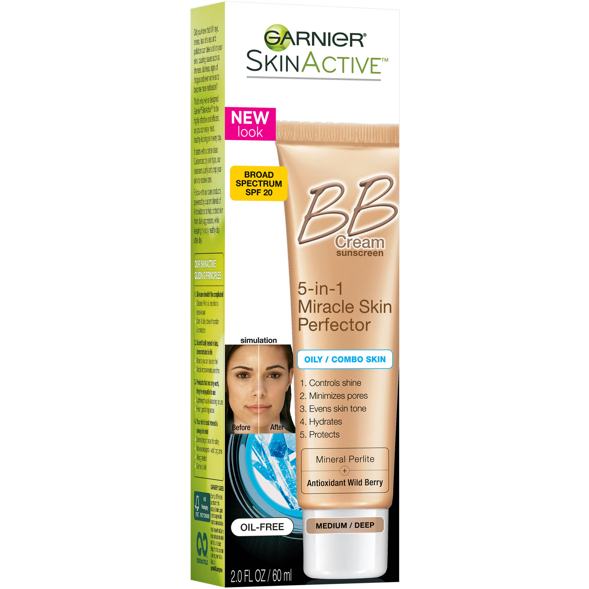 Garnier SkinActive Skin Perfector BB Cream for Oily & Combination Skin