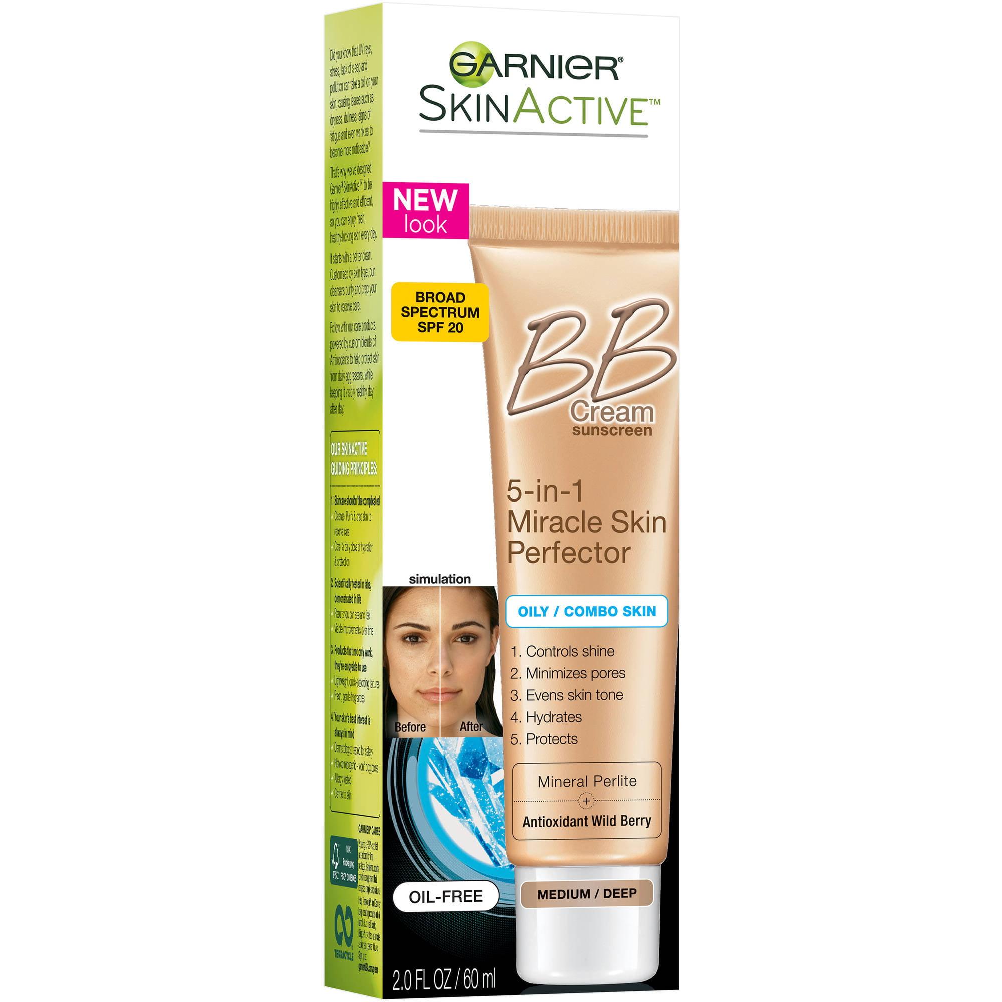 Garnier SkinActive Skin Perfector BB Cream for Oily & Combination Skin