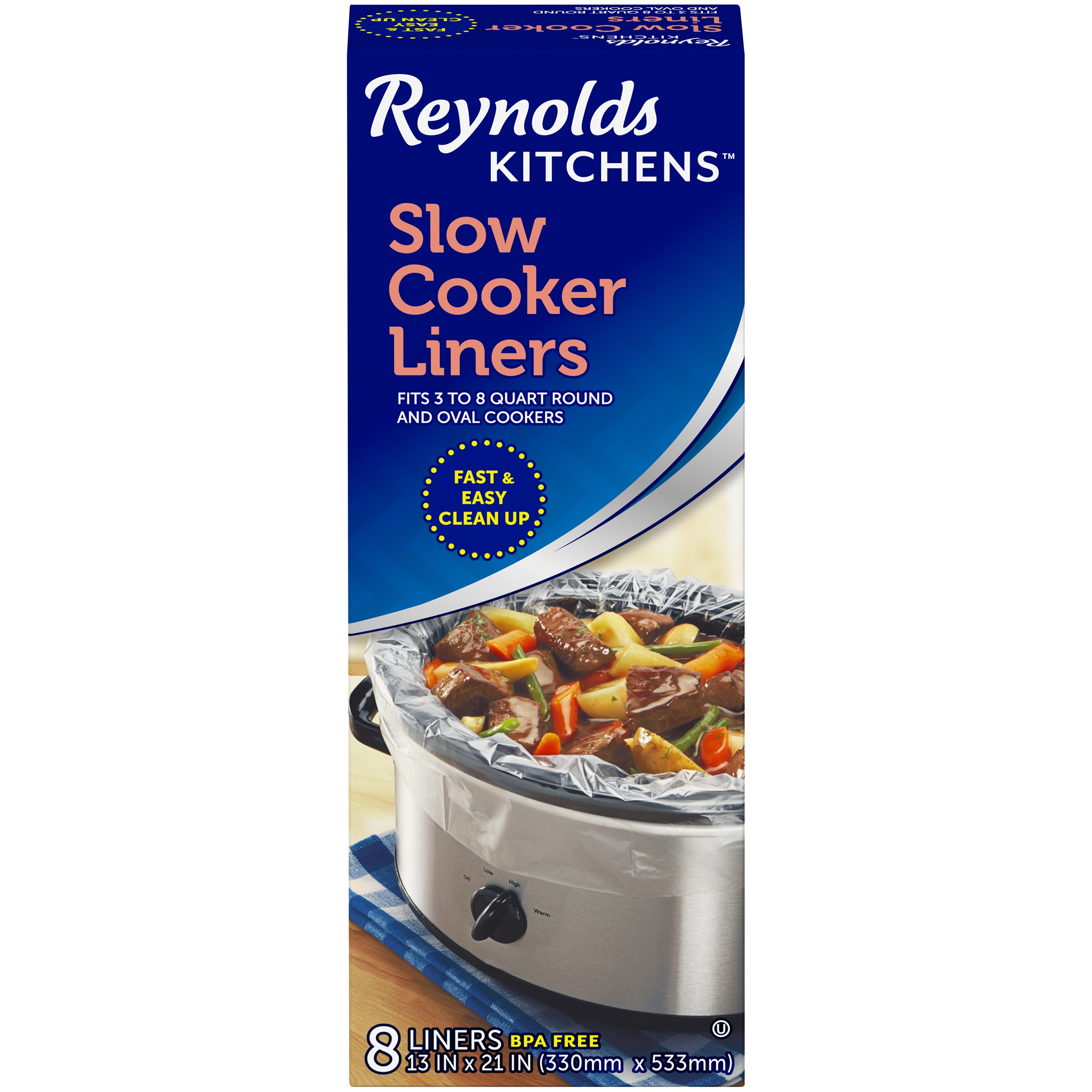 Slow Cooker Liners Crock Pot Bags Collections Kitchen Cooking Home Cooks 6 Pcs 3