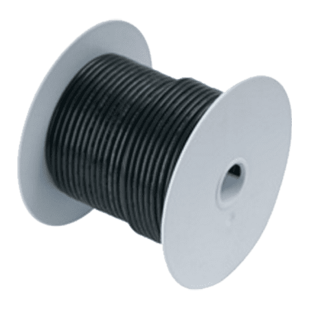 Ancor #111010 Wire, 100' #8 Tinned Copper, Black