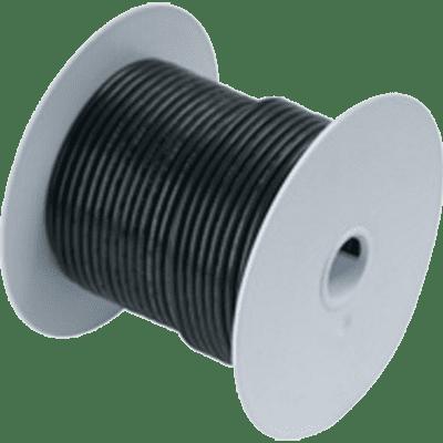 - Ancor #111010 Wire, 100' #8 Tinned Copper, Black