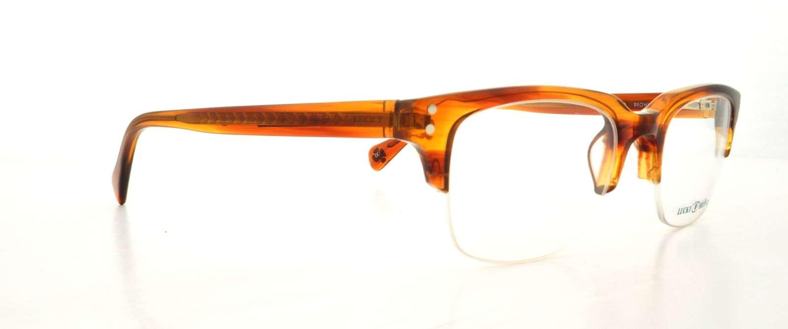 LUCKY BRAND Eyeglasses VALENCIA Brown 48MM