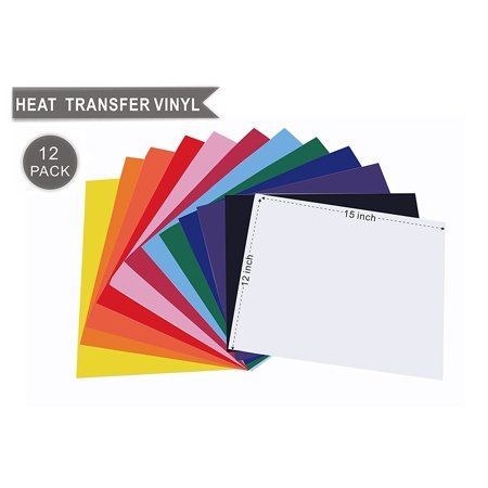 Heat Transfer Vinyl Starter Bundle for T-Shirts 15