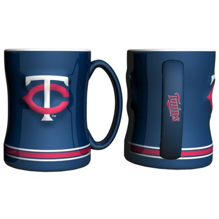 Minnesota Twins Coffee Mug - 15oz Sculpted - image 1 de 1