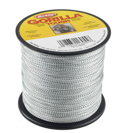 Berkley Gorilla Tough Braid Fishing Line  Camo Green