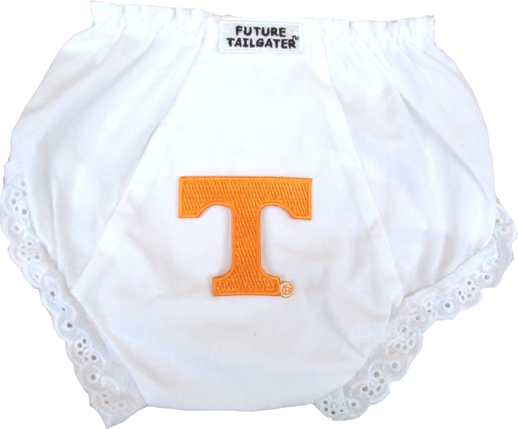 Tennessee Volunteers Eyelet Baby Diaper Cover by Future Tailgater