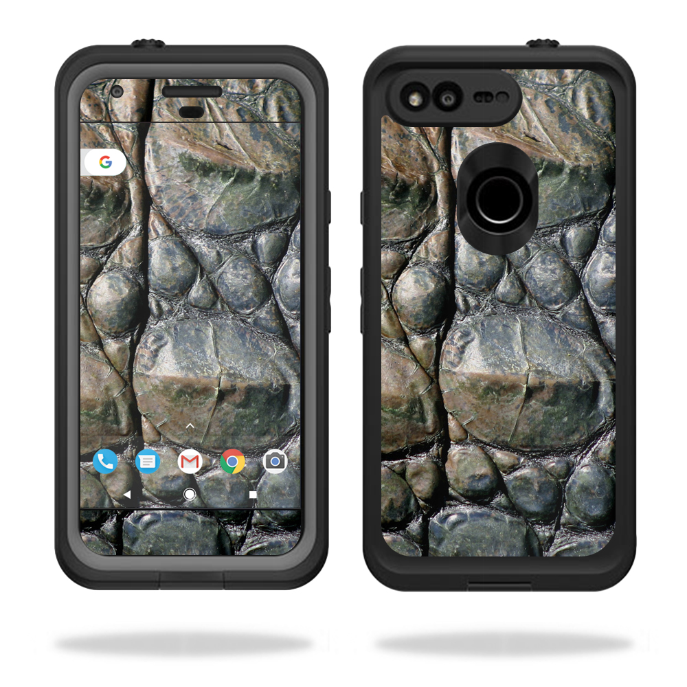 """MightySkins Protective Vinyl Skin Decal for Lifeproof fre Google Pixel 5"""" Case  wrap cover sticker skins Gator Skin"""