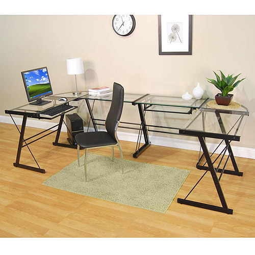 Glass Workstation, Multiple Finishes