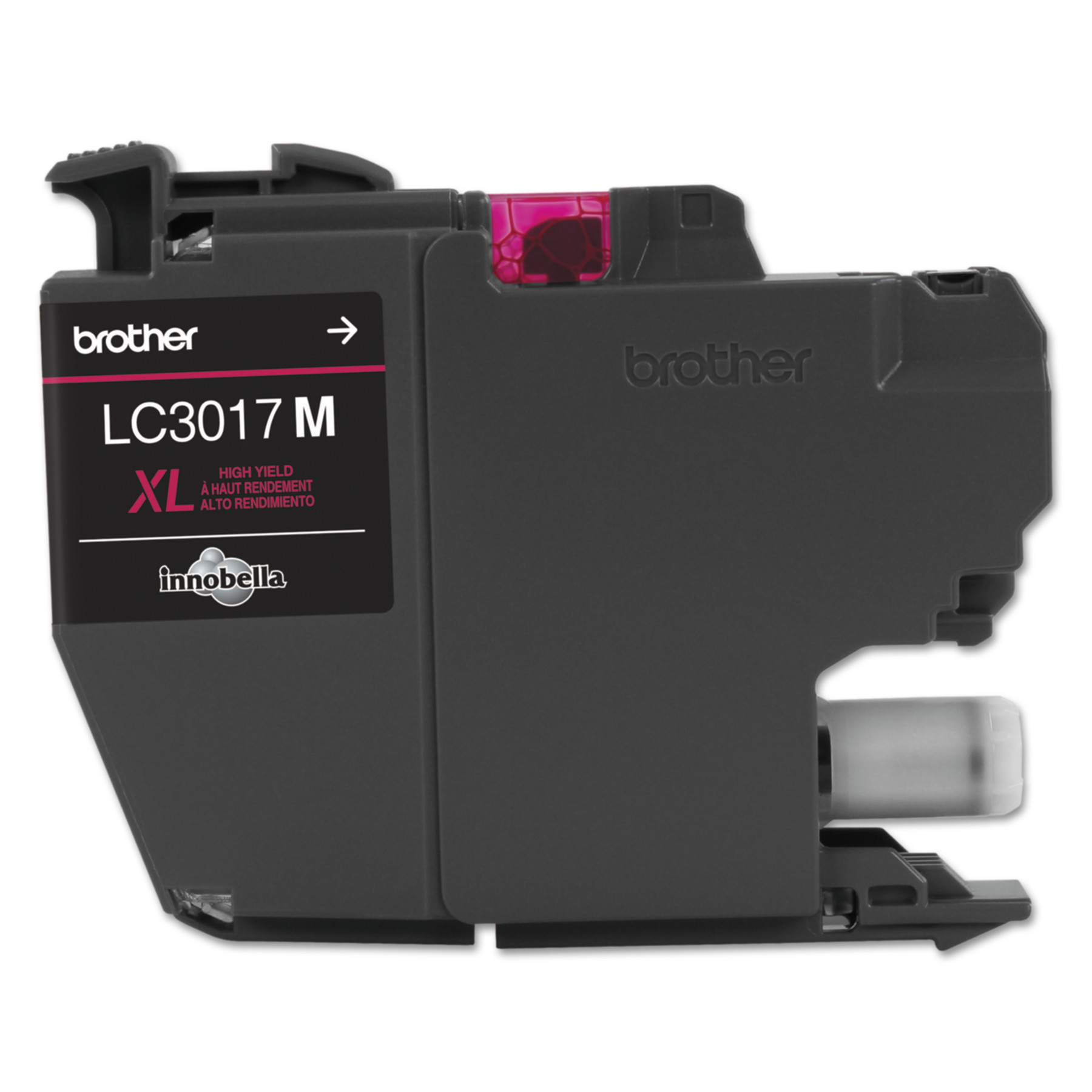 Brother LC3017M High-Yield Ink, 550 Page-Yield, Magenta