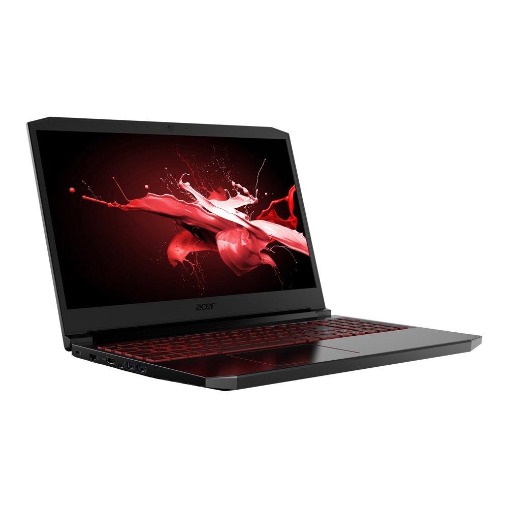"Acer Nitro 7 AN715-51-796C - Core i7 9750H / 2.6 GHz - Win 10 Home 64-bit - 8 GB RAM - 512 GB SSD - 15.6"" IPS 1920 x 1080 (Full HD) - GF GTX 1650 - Wi-Fi, Bluetooth - obsidian black - kbd: US International"