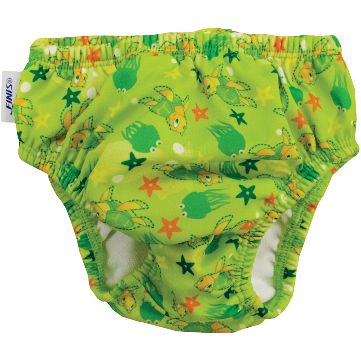 Swim Diaper Turtle Green S