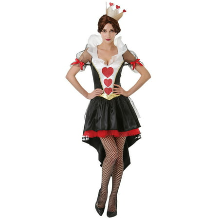 Boo! Inc. Queen of Hearts Halloween Costume for Women | Alice in Wonderland Dress
