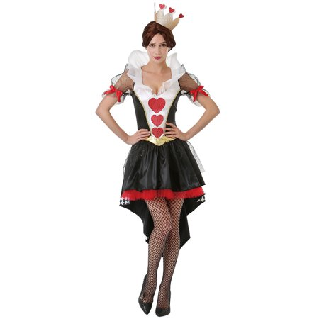Alice In Wonderland Costumes For Men (Boo! Inc. Queen of Hearts Halloween Costume for Women | Alice in Wonderland Dress)