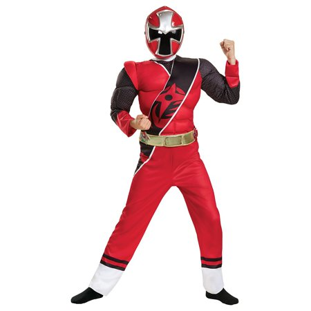 Power Rangers Ninja Steel Child Costume Red - Large