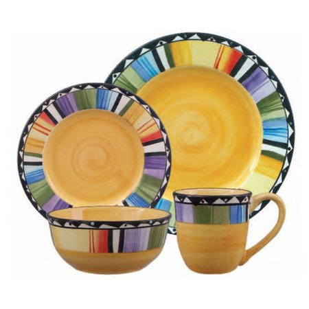 Home Fandango 16-Piece Dinnerware Set