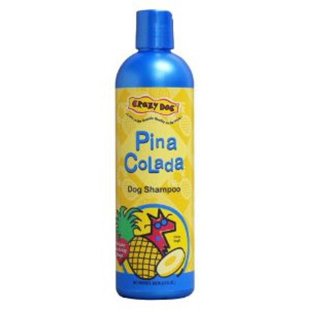 Cardinal Laboratories Crazy Pet Pina Colada Shampoo  12oz Multi-Colored