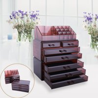 Zimtown Cosmetic Organizer Makeup Storage Drawers Lipstick Holder