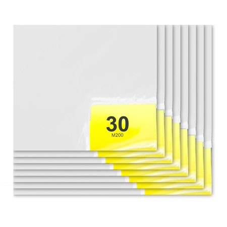 (Purus 36in. x 45in. White, 30 Layer Cleanroom Mat, (Case of 8))