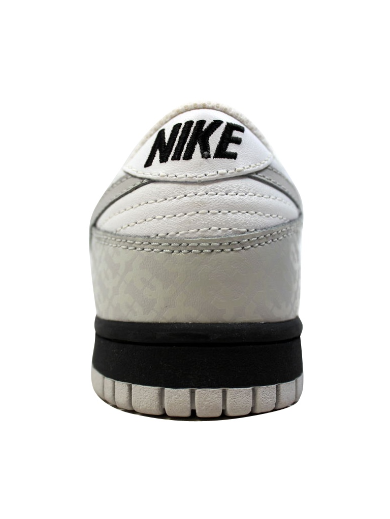 Nike Women's Dunk Low White/Neutral Grey-Black 317813-101