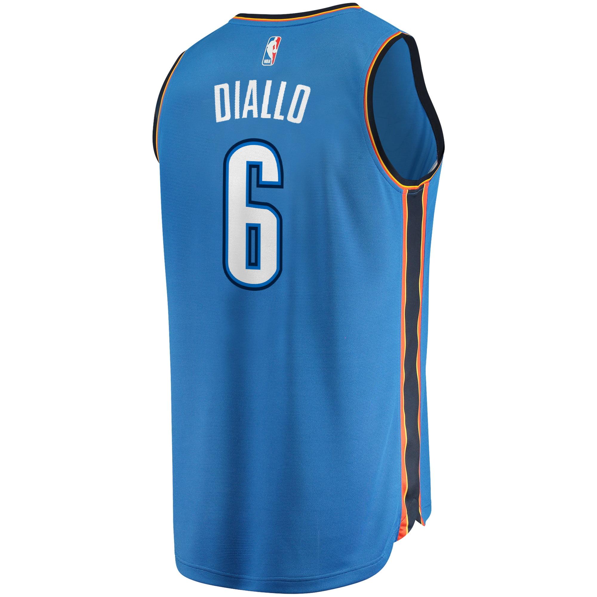 wholesale dealer 91135 782c2 Hamidou Diallo Oklahoma City Thunder Fanatics Branded Fast Break Replica  Jersey - Icon Edition - Blue