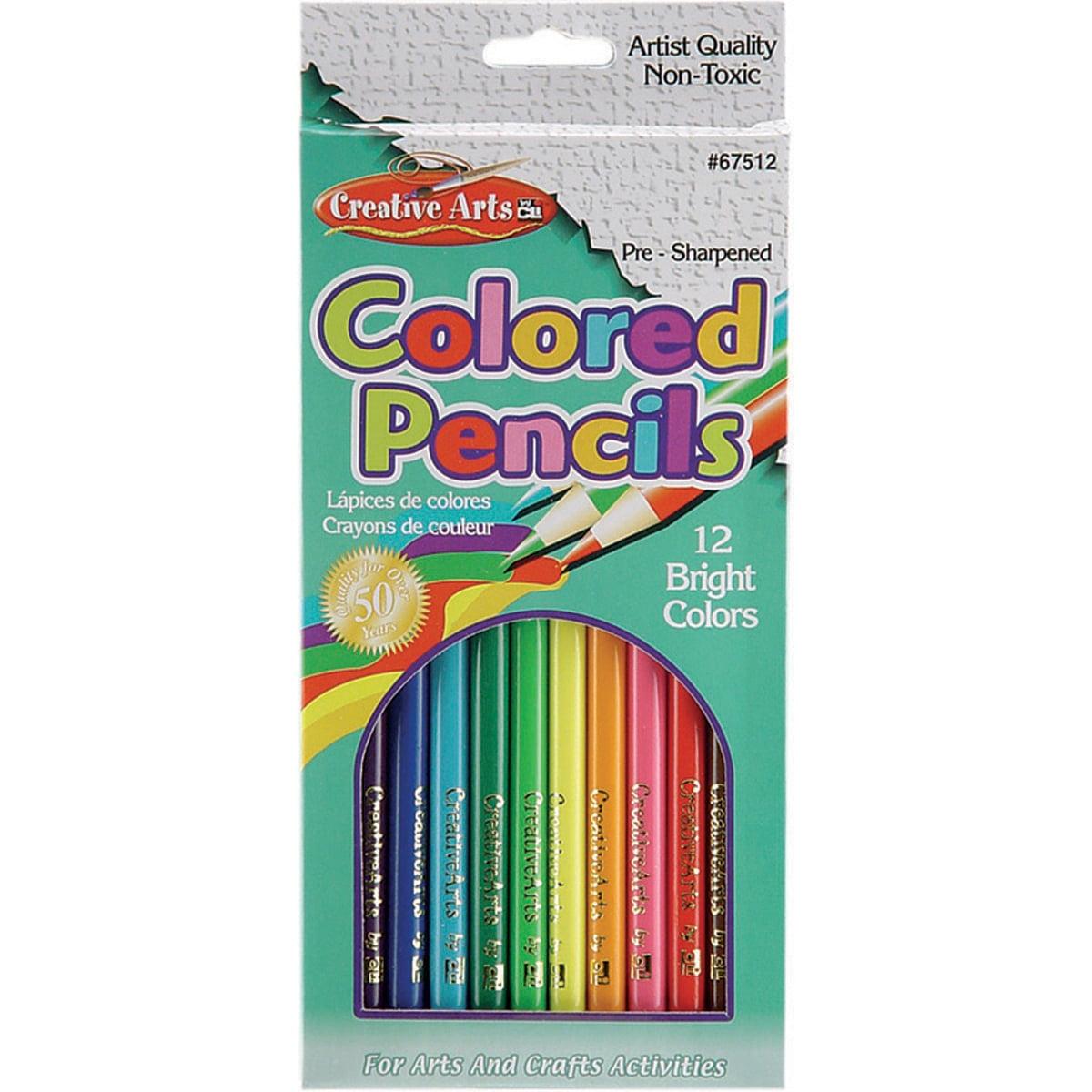 Presharpened 7in Colored Pencils