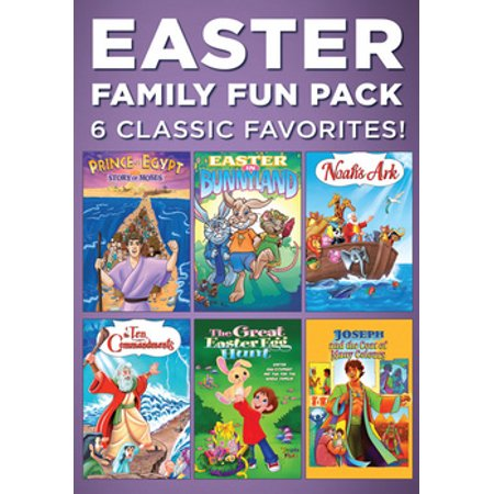Easter Family Fun Pack: 6 Classic Favorites (DVD)