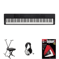 Portable Digital Piano available in black or whit