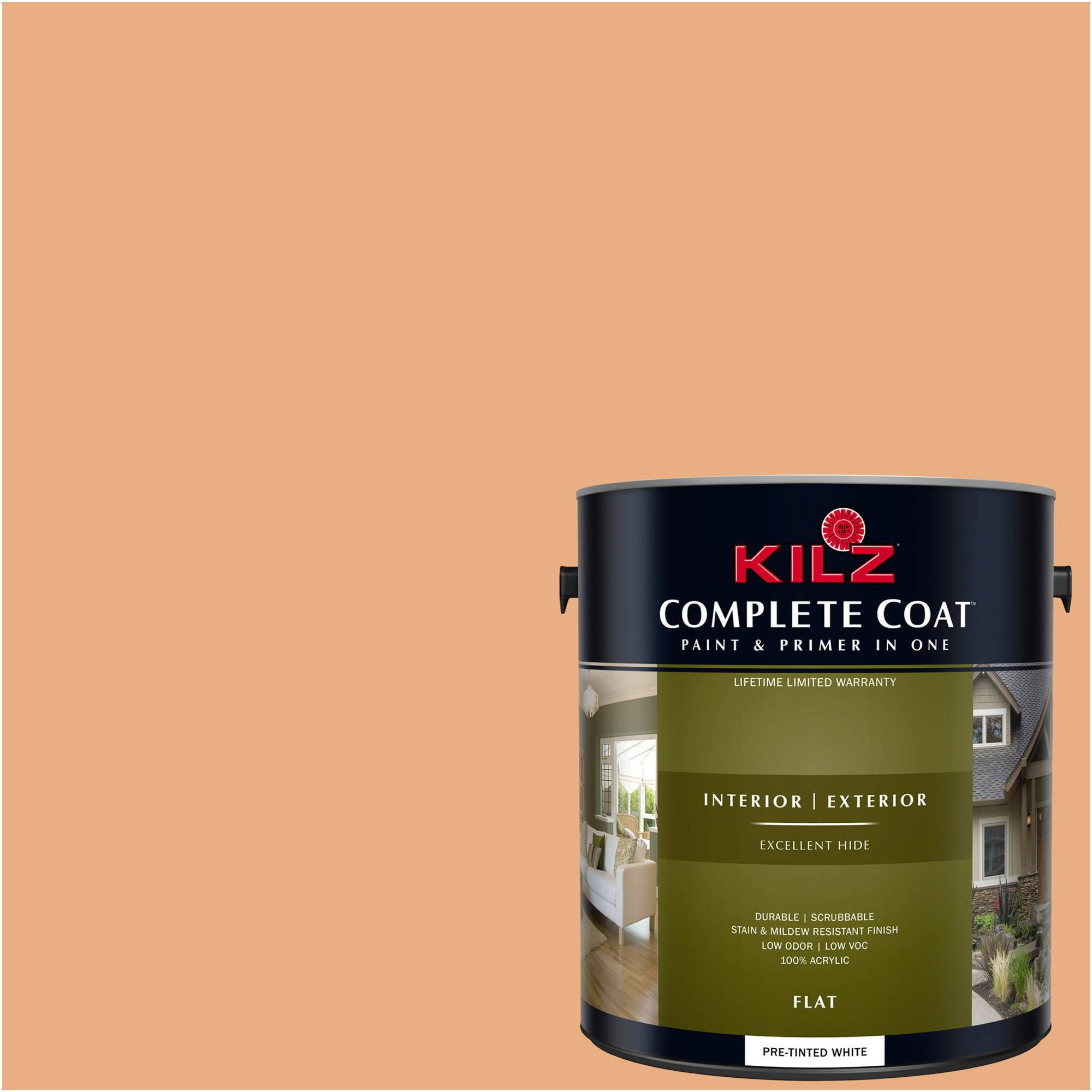 KILZ COMPLETE COAT Interior/Exterior Paint & Primer in One #LC140-01 Desert Vista