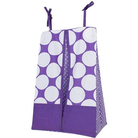 Taylor Diaper Stacker - Bacati, MixNMatch Diaper Stacker, Purple