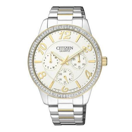 CITIZEN Women's Classic Watch Japanese Quartz Mineral Crystal ED8124-53A ()