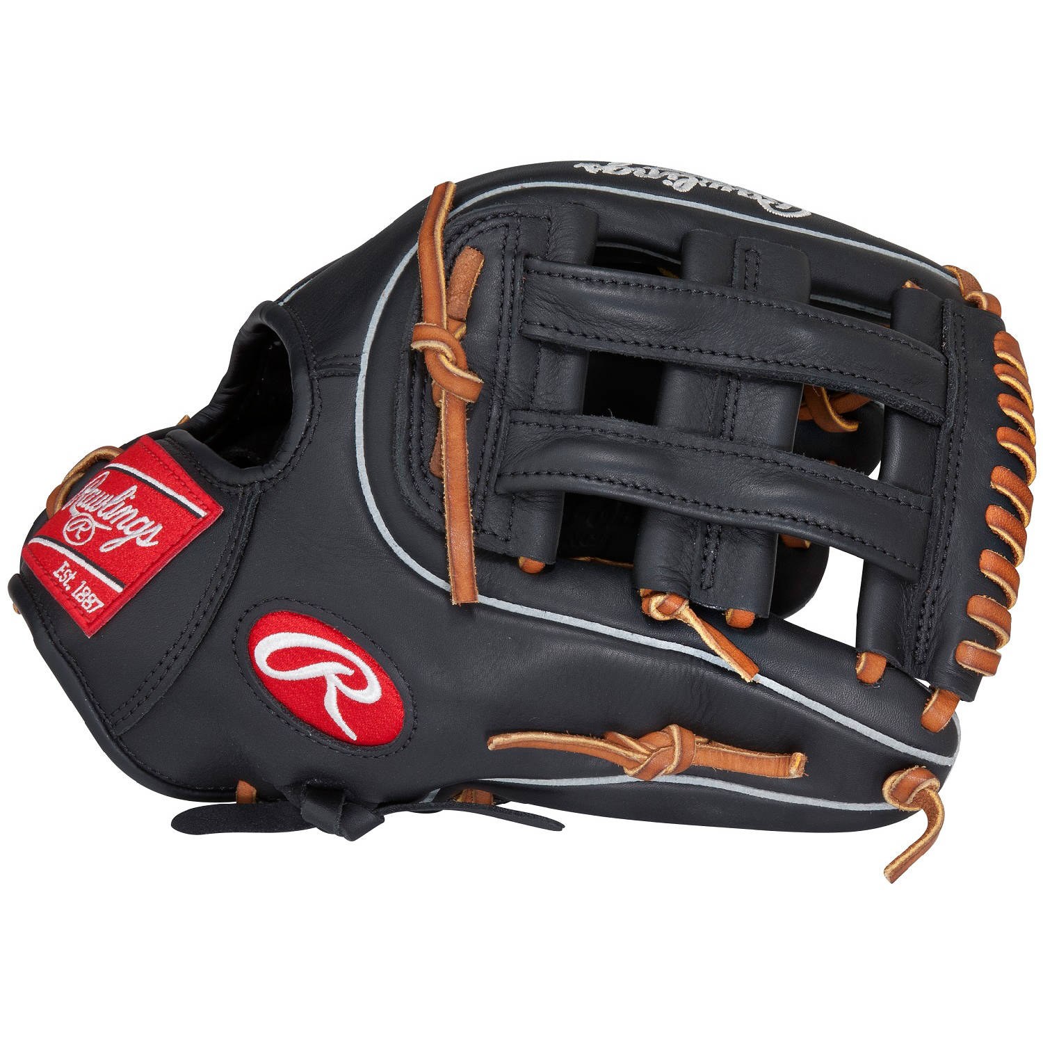 "Rawlings 11.75"" Gamer Series Infield Baseball Glove, Right Hand Throw"