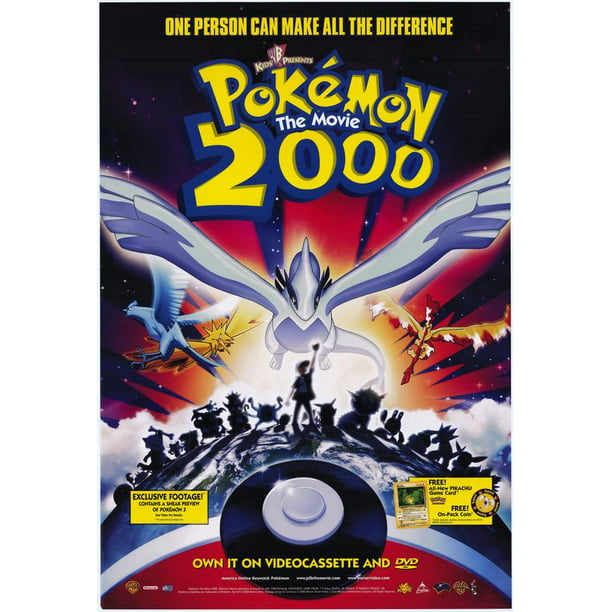 Pokemon The Movie 2000 The Power Of One 2000 11x17 Movie Poster