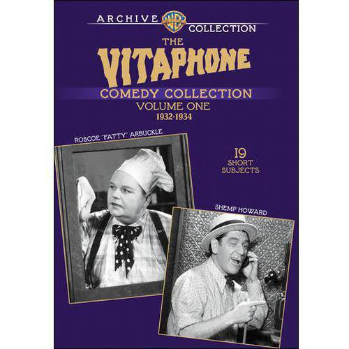 "The Vitaphone Comedy Collection: Roscoe ""Fatty"" Arbuckle / Shemp Howard, Vol. 1: 1932-1934"