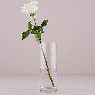 Libbey Cylinder 95 Inch Glass Vase Walmart