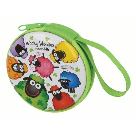 Wacky Woollies Round Coin Purse with - Wacky Bags
