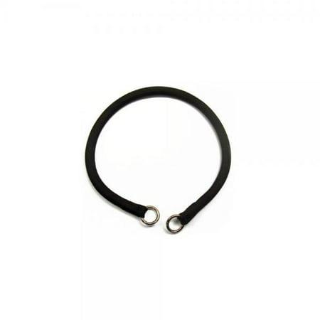Nylon Combo Choke Collar (Coastal -Round Nylon Choke Collar in Black 22, Width: 3/8)
