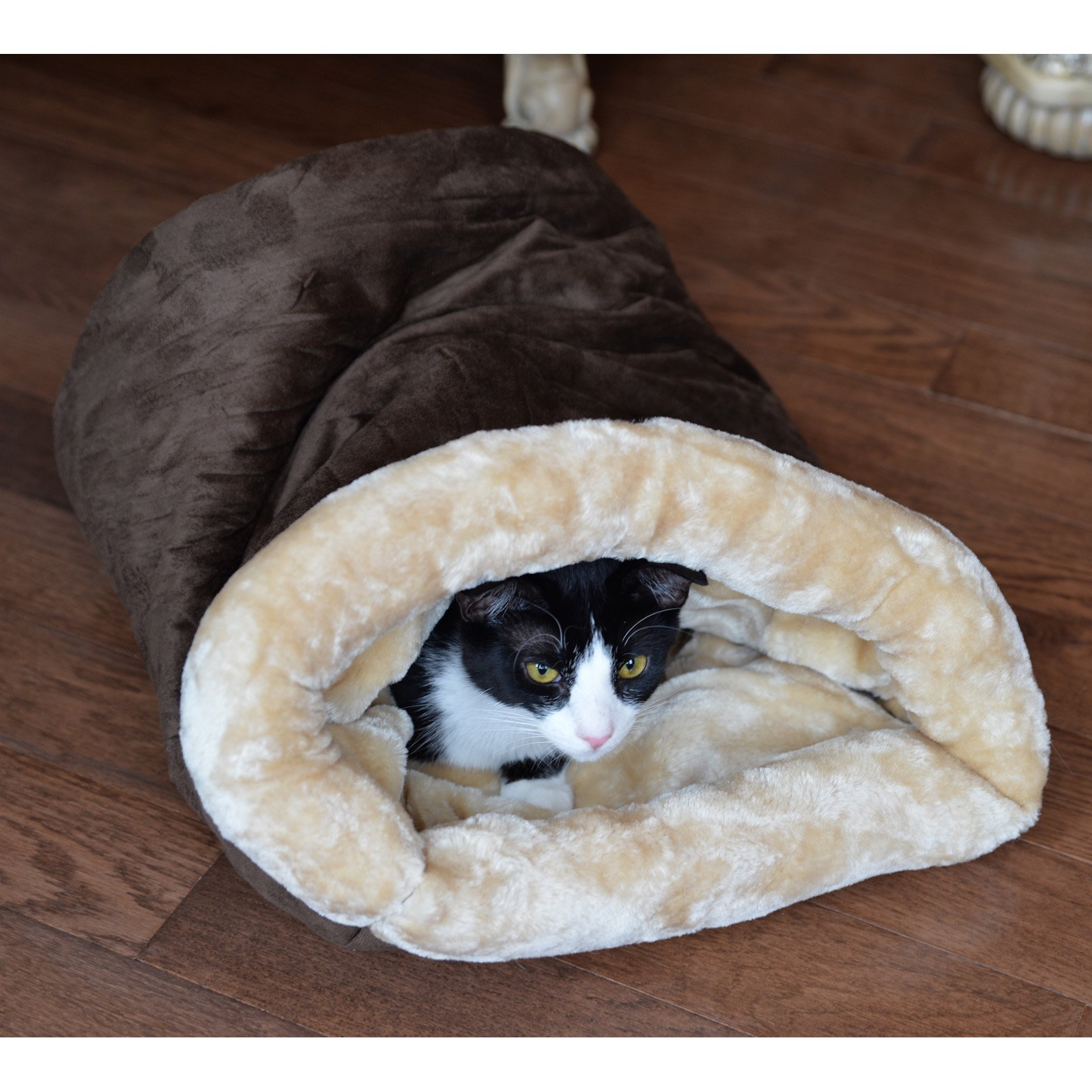 Armarkat Mocha Cat Bed Size, 22-Inch by 14-Inch, C15HKF/MH