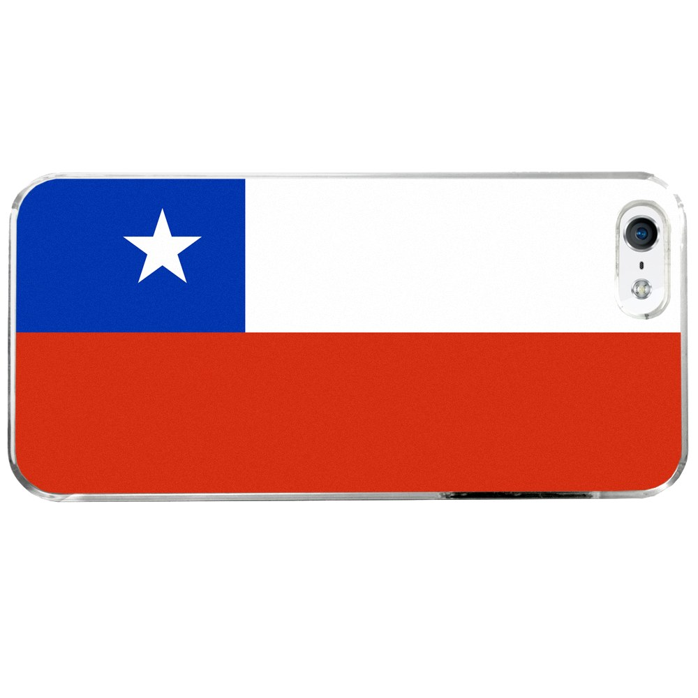 Chile Chilean Flag Apple iPhone 5   5S Phone Case by Arthwick Store
