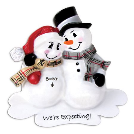 PERSONALIZED CHRISTMAS ORNAMENTS BABY'S FIRST-WE'RE EXPECTING KIT ()