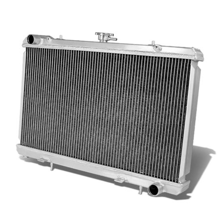 For 1989 to 1993 Nissan 240SX Full Aluminum 2 -Row Racing Radiator - S13 SR20DET 90 91 92 Sr20det Aluminum Radiator