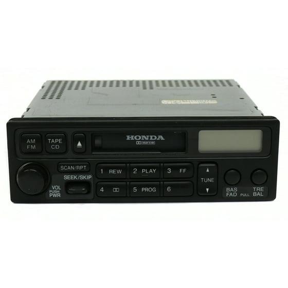 2001 Honda Accord Radio Code >> 1998 02 Honda Accord Am Fm Cassette Player Pn 39100 S84 A020 M1 Face Code 2pa0 Refurbished