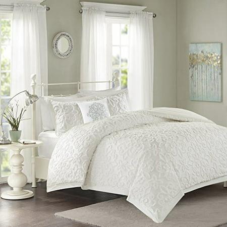 Sabrina 4 Piece Comforter Set White King/Cal King - image 1 of 1