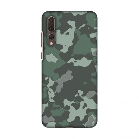 brand new 4fc29 ae6d8 Huawei P20 Pro Case - Camou- Amazon green, Hard Plastic Back Cover, Slim  Profile Cute Printed Designer Snap on Case with Screen Cleaning Kit